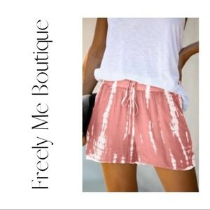 BRAND NEW Tie-Dye Shorts Size Small